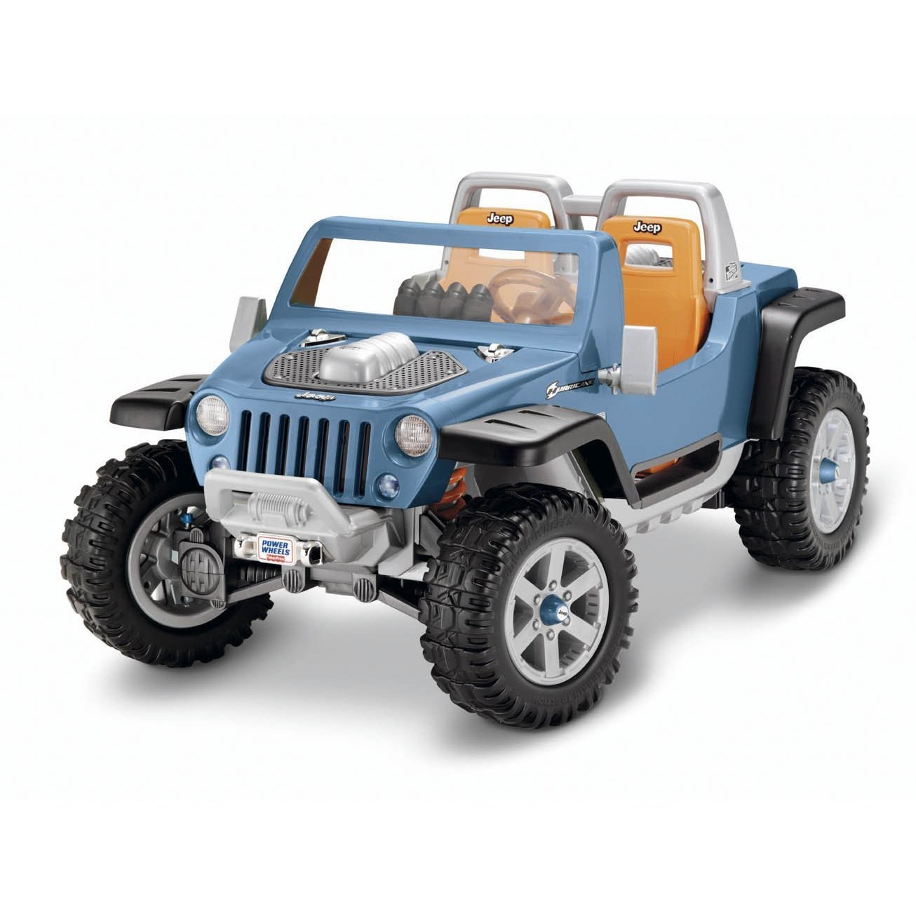 Ride on jeep hurricane for Hot wheels motorized jeep